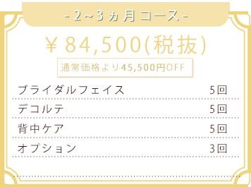 84500円